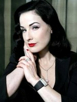 Dita von Teese at Useful TV Celebrity Endorsement