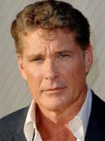 David Hasselhoff at Useful TV Celebrity Endorsement