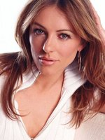 Elizabeth Hurley at Useful TV Celebrity Endorsement